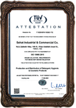 Holder of ISO 10668:2010 international certificate from TUV