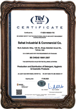 Holder of ISO 18001 international certificate from TUV